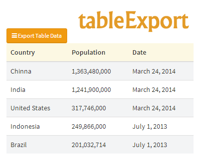 tableexport-jquery-plugin-to-export-html-tables